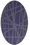 rug #380708 | oval abstract rug