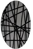 rug #380791 | oval abstract rug