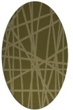 rug #380949 | oval light-green rug