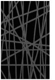rug #380977 |  black abstract rug
