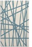 rug #380993 |  white abstract rug