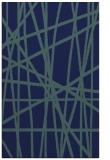 rug #381001 |  blue abstract rug