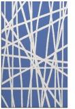 rug #381009 |  blue abstract rug