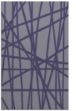 rug #381057 |  blue-violet stripes rug