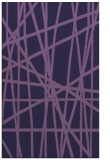 rug #381065 |  purple abstract rug
