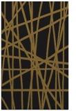 rug #381085 |  mid-brown stripes rug