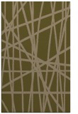 rug #381089 |  brown stripes rug