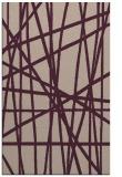 rug #381125 |  pink abstract rug