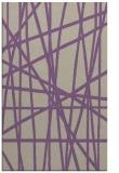 rug #381149 |  purple stripes rug
