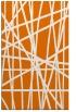 rug #381161 |  orange abstract rug