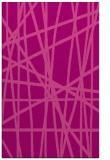 rug #381177 |  pink stripes rug