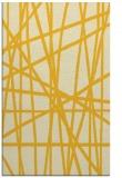 rug #381257    yellow stripes rug