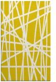 rug #381269 |  white stripes rug