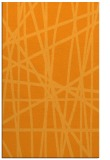 rug #381313 |  light-orange abstract rug