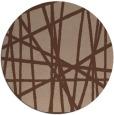 rug #381339 | round stripes rug