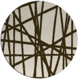 rug #381476 | round abstract rug