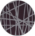 rug #381557 | round purple abstract rug