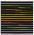 rug #382045   square brown stripes rug