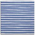 rug #382065 | square blue stripes rug