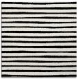 rug #382297   square white stripes rug
