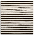 rug #382321   square brown stripes rug