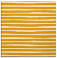 rug #382361   square light-orange stripes rug