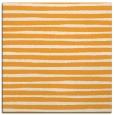 rug #382373 | square light-orange stripes rug