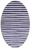 rug #382483   oval stripes rug