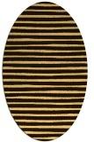 rug #382676 | oval stripes rug