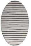 rug #382728 | oval stripes rug