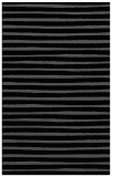 rug #382737 |  black stripes rug