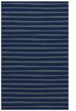 rug #382761 |  blue-green stripes rug