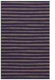 rug #382837 |  blue-violet stripes rug