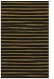 rug #382845 |  black stripes rug