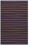 rug #382961 |  purple stripes rug