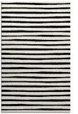 rug #383001    black stripes rug