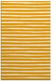 rug #383065    light-orange stripes rug