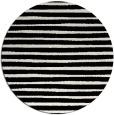 rug #383085 | round black stripes rug