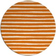 rug #383273 | round orange rug