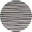 rug #383353   round black stripes rug
