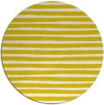 rug #383381 | round white stripes rug