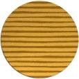 rug #383385 | round yellow popular rug