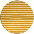 rug #383417 | round light-orange rug
