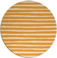 rug #383429 | round light-orange stripes rug