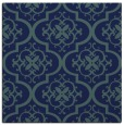rug #383817 | square blue-green traditional rug