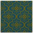 rug #383845 | square blue-green popular rug