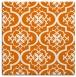 rug #383977   square orange popular rug