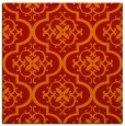 rug #384029 | square red traditional rug