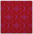 rug #384037 | square red rug