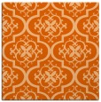 rug #384045 | square red-orange traditional rug